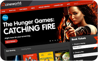 Cineworld: eCommerce WebsiteStreamlining interaction design